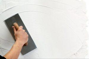 Оштукатуривание стен слоем до 25 мм
