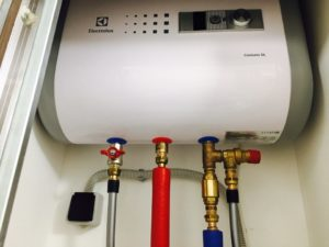 Монтаж водонагревателя